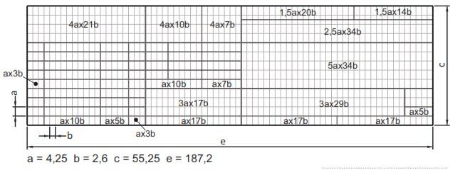 Σχήμα 3.5: Διαστάσεις υπομνήματος σύμφωνα με το DIN 6771-1.