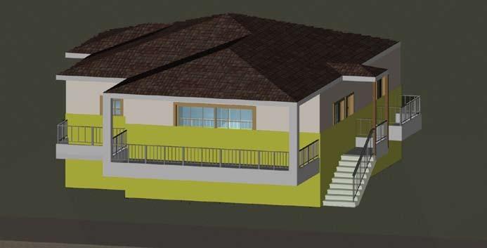 Σχέδιο 5.15: Ύψος επιπέδου οριζόντιας τομής μονοκατοικίας.