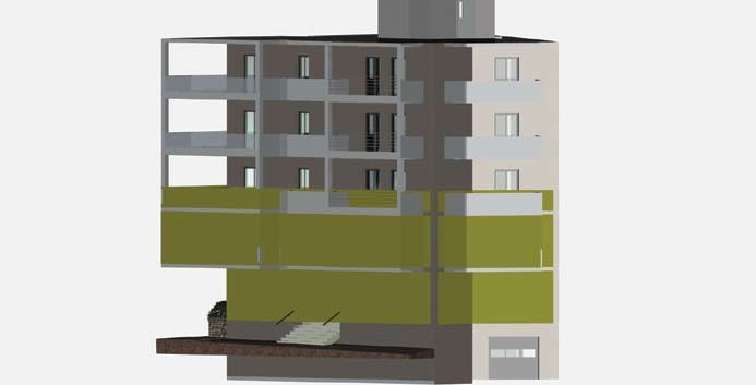 Σχέδιο 5.27: Ύψος επιπέδου οριζόντιας τομής πολυκατοικίας.