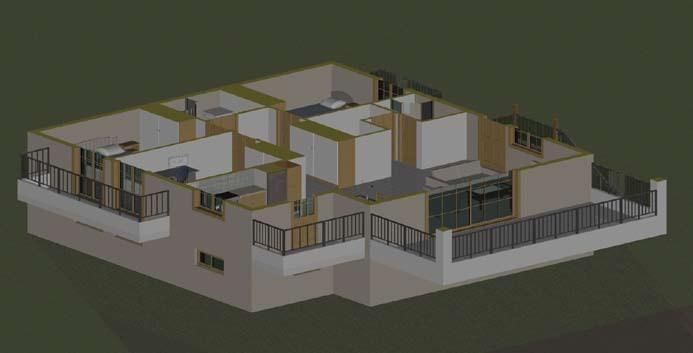 Σχέδιο 5.19: Οριζόντια τομή μονοκατοικίας.