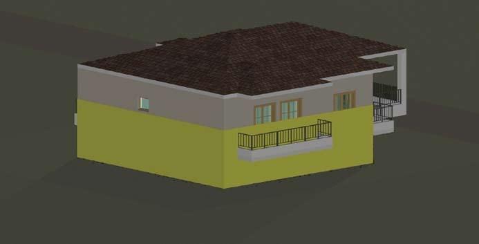 Σχέδιο 5.21: Ύψος επιπέδου οριζόντιας τομής μονοκατοικίας.