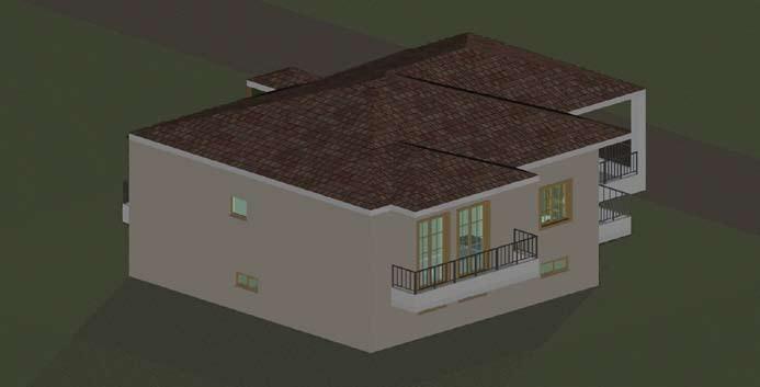 Σχέδιο 5.20: Τρισδιάστατο σχέδιο μονοκατοικίας.