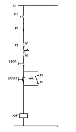 Σχήμα 7.17: Βοηθητικό κύκλωμα εκκίνησης μονοφασικού κινητήρα