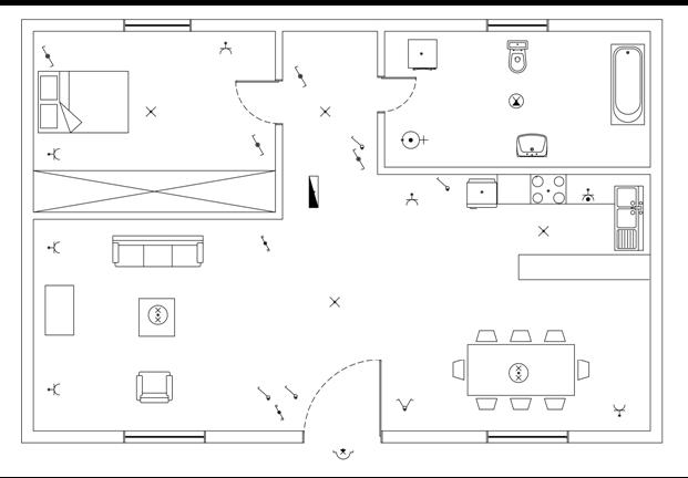 Σχήμα 6.52: Τοποθέτηση ηλεκτρικών συσκευών.
