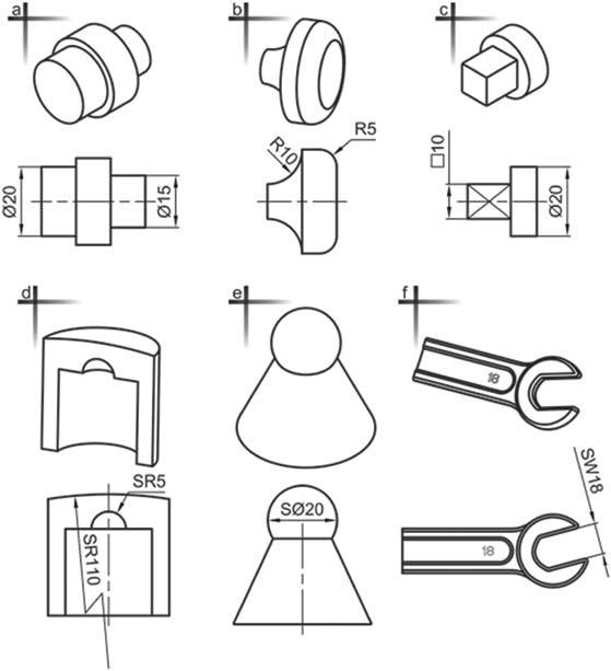 Σχήμα 4.36: Καταχώρηση συμβόλων διαστάσεων.