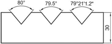 Σχήμα 4.39: Παραδείγματα καταχώρησης διαστάσεων γωνιών.